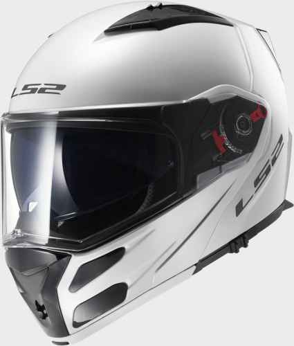 LS2 Metro Solid White FF324 - Taille S